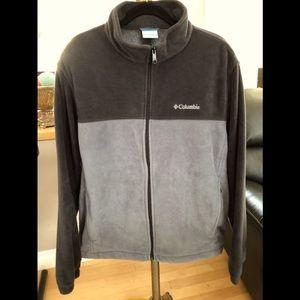 Columbia Men's XL Fleece Zip Up Sweater, GUC